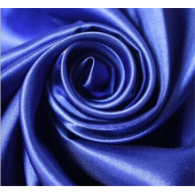 Hot Selling Plain Dyed 100% Polyester Satin Fabric for Garments