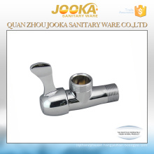 China suppliers chrome plated zinc alloy angle valve