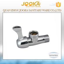 China fornecedores cromado válvula de ângulo de liga de zinco
