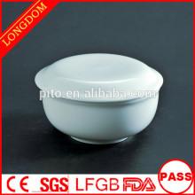 P & T Chaozhou Fabrik Keramik Suppe Schüssel mit Deckung Restaurant Geschirr