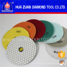 100mm Dry Polishing Pads Granite Polishing