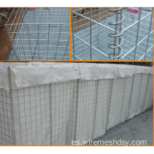 Fabricante Military Welded Hesco Barrier / Wall