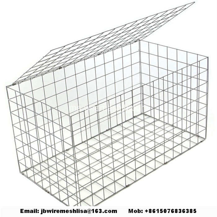 Net Dipped Galvanized Welding Stone Cage Net