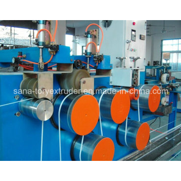 Low Noise Plastic PP Packing Belt Extruder Machine