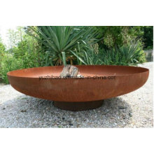 Rust Big Steel Fire Pit Bowl / Steel Patio Fire Pit