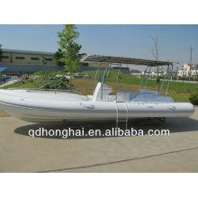 bateau gonflable de nervure de 7,3 m à vendre
