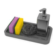 Принадлежности для мытья посуды Силиконовые губки Держатель для мыла