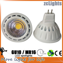 6W 12V MR16 3000k Lâmpada LED Teto Spotlight