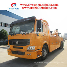 2015 SINOTRUK HOWO hot sale 6x4 wrecker tow truck for sale