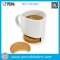 Wholesale Custom Porcelain Cookie Mug