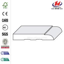 Base de porta de molde convexo de Primer branco banheiro