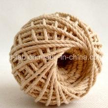 Venta caliente de cuerda de correas trenzadas de algodón