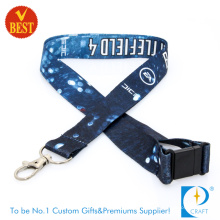 2015 Novelty Branded Checp Full Color Sublimation Cmyk Printed Lanyards for Sales