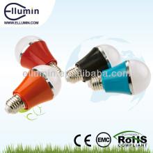 горячая продажа E27 светодиодные лампы пластиковый корпус