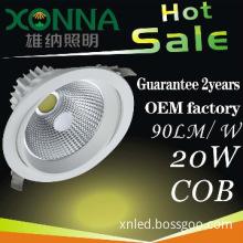 5W/10W/15W/20W Adjustable COB led spotlight , XN-TD0620