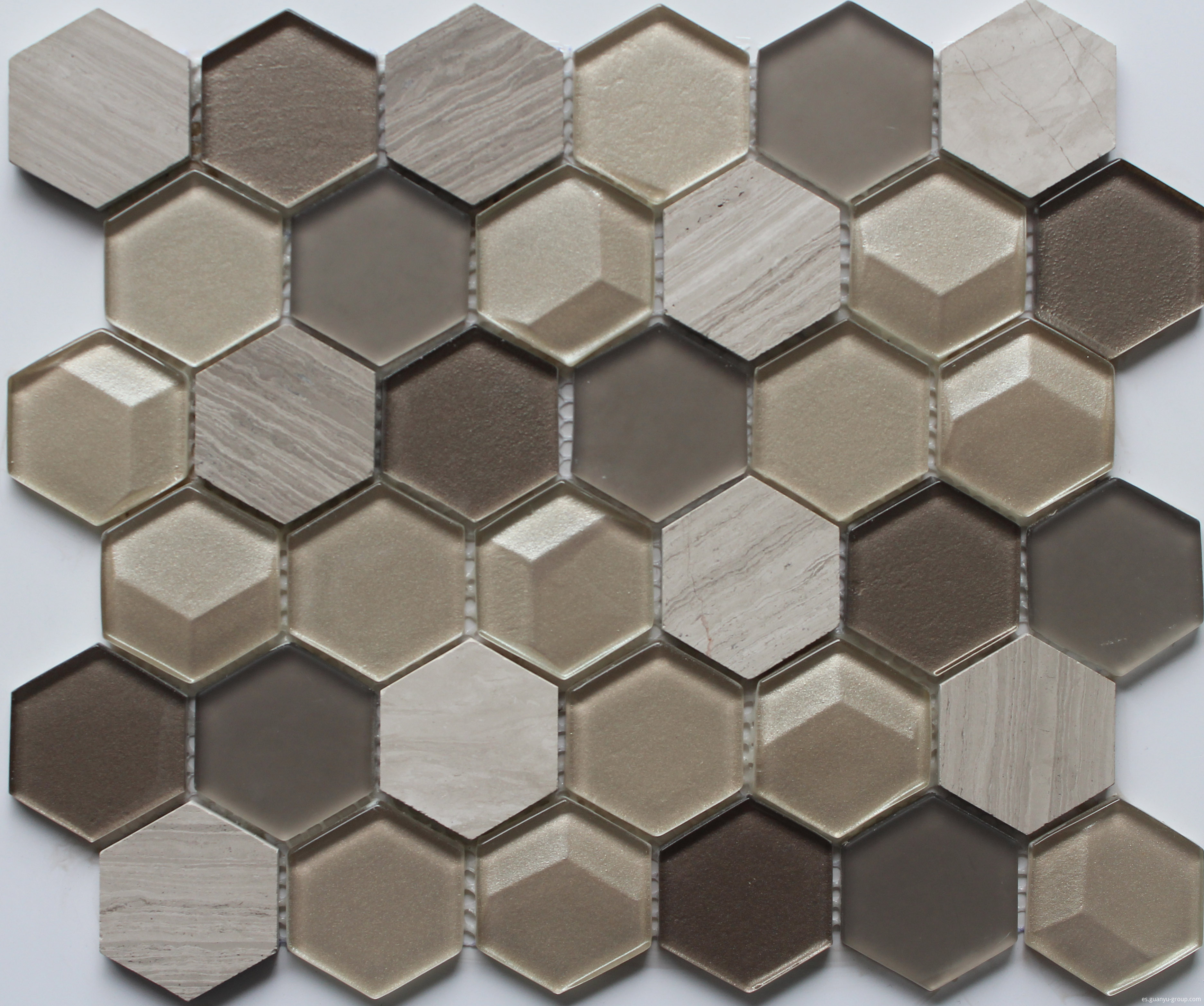 Fashion Material Mixed Mosaic Tile