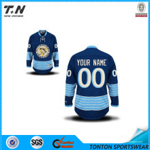 2015 Professional Custom Sublimation Eishockey tragen