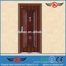 JK-S9023 aço garagem portas de segurança entrada design