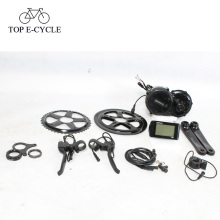 Бафане набор преобразования середины мотор электрический велосипед аксессуары