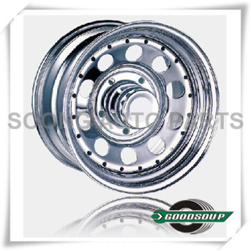 "Modular-Beadlock Wheels GS-304 Steel Wheel from 15"" to 17"" with different PCD, Offset and Vent hole"