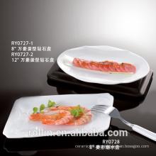 Hochwertige Großhandelsrestaurant-Teller mit hervorragendem Preis
