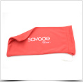 Red Silk Siebdruck Superfine Fiber Phone Tasche