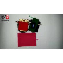Bolsa de joyería súper fina personalizada y agradable diseñado con alta calidad