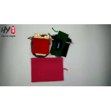 Super fine customized and nice designed jewelry pouch with high quality