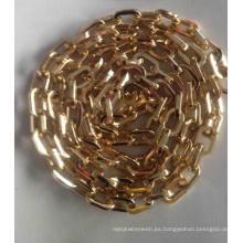Cadena decorativa del bolso de lujo del metal para la cadena del bolso de la manera del bolso / de los zapatos