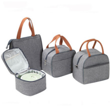 Outdoor Insulated Tote Cooler Food Bag Polyester Custom Ladies Lunch Bag For Women