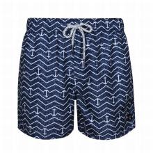 Pantalones cortos estampados Traje de baño para hombres maduros Pantalones cortos de baño