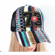 2016 Nuevo casquillo de la gorra de béisbol de la marea y casquillo hecho punto Cap de la promoción de los deportes