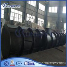 Caixa de carga de aço resistente ao desgaste personalizado para draga (USC4-012)