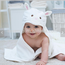 Cat Baby Gift, Baby Towel with Hood, Personalised Gifts for Newborn Baby Girl, Unique Newborn Gifts