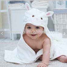 Cadeau de bébé de chat, serviette de bébé avec le capot, cadeaux personnalisés pour la petite fille nouveau-née, cadeaux uniques de nouveau-nés