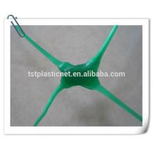 Red de soporte de plástico verde para melones