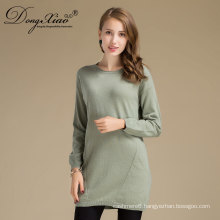 Europe Style Women Round Collar Pullover Cashmere Knited Sweaters With Factory Direct
