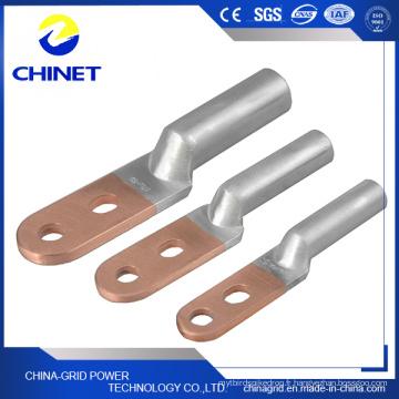 Connecteur d'alimentation bimétallique à double trou de type Dtl2 (tête ronde)