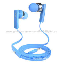 Flat cable stereo WiFi colorful shoe lace earphones for N95New