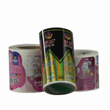 Printing High Quality Self Adhesive Label Sticker for Shampoo Package