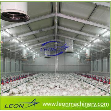 Sistema de alimentação de galinhas série Leon Sistema de aviários para granjas