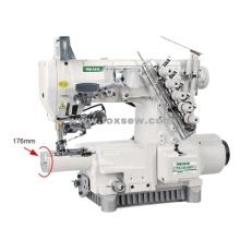 Maszyna do szycia z miękkim cylindrem z napędem bezpośrednim