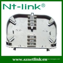 Forma redonda 24 porta fibra óptica splice bandeja