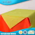 Producto de la promoción Pp Raw Material Waterproof Tablecloths Wholesale Table linen