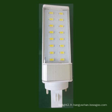 LED PLC Tube G24 / E27 7W 9W CE Approbation