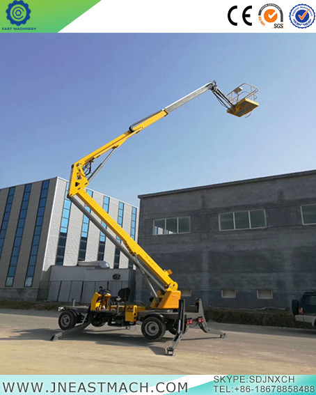 Mobile Trailer Boom Lifts