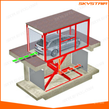 Electric auto car scissor lift