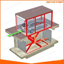 Elevador de tesoura de carro elétrico