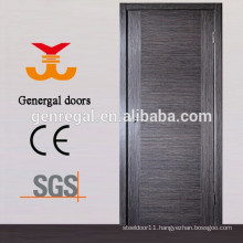 Painting veneer flush plain wooden door