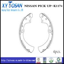 Auto sapato de freio para Nissan Pick up K1174